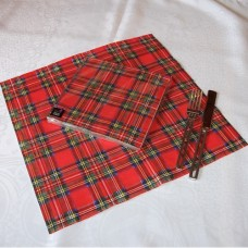 Royal Stewart Tartan Paper Dinner Napkins (Pack of 20)