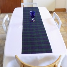 Black Watch Tartan Fabric Table Runner