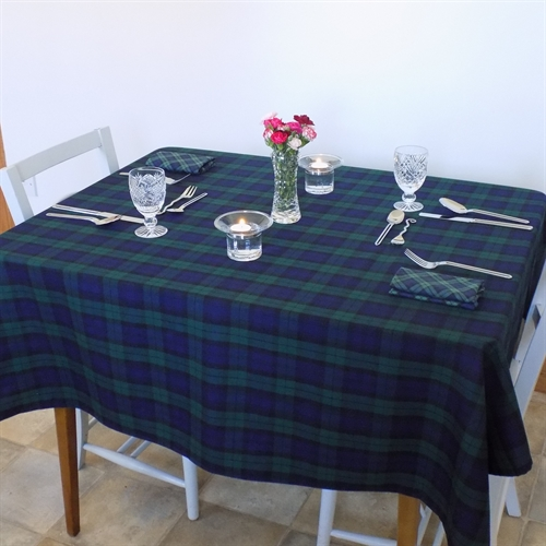 Black Watch Tartan Tablecloth
