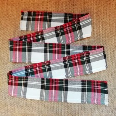 50mm Stewart Dress Tartan Fabric Ribbon Strip 140cm long