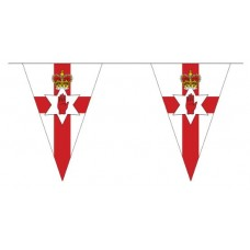 Northern Ireland Flag Triangle Bunting 5m