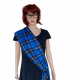 Ramsay Blue Tartan Party Sash