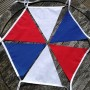 Red White and Blue Fabric Bunting 10m