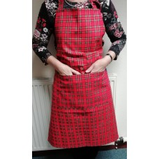 Royal Stewart Tartan Cotton Drill Apron