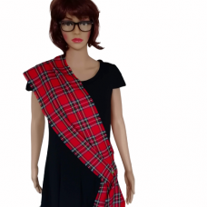 Royal Stewart Red Tartan Sash