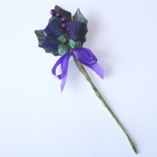 Scottish Thistle Corsage/Buttonhole