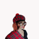 Scottish Red Tartan See You Jimmy Hat