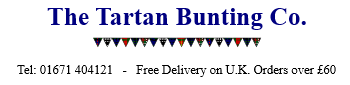 The Tartan Bunting Co.